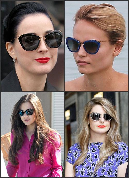 aacb89a513c29 Desde o ano passado óculos no estilo gatinho começaram a surgir nas  coleções das grifes de renome, o formato do momento não necessita ser tão  tradicional, ...